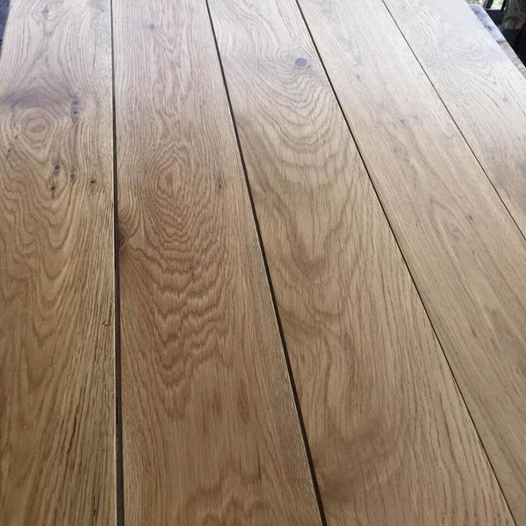 6 Inch Wide Plank European Oak Solid