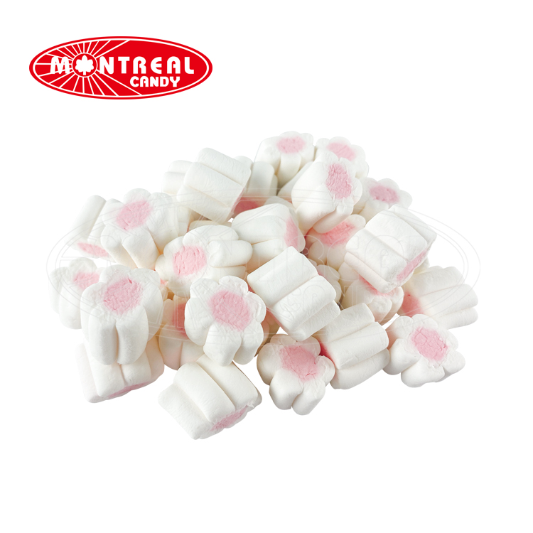 Marshmallow sweets flowers shape cotton candy marshmallow candies