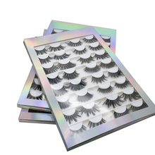 Hot mix 16 pairs hand maß mixed styles 3d faux nerz wimpern wimpern großhandel anbieter groß multi pack wimpern