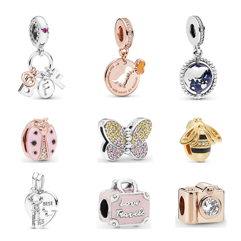 Wholesale 925 Sterling Silver Charms For Pandora Bracelets High Quality Dangle Charms For Pandora Buy 925 Sterling Silver Charms For Pandora 925 Sterling Silver Charms Beads Bracelet Product On Alibaba Com