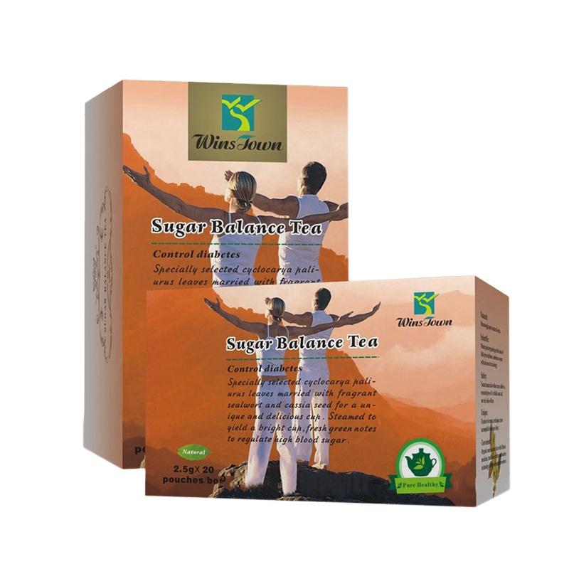 Wins town Herbal Diabetic Tea sugar balance health tea for Control and reducing high blood sugar - 4uTea   4uTea.com