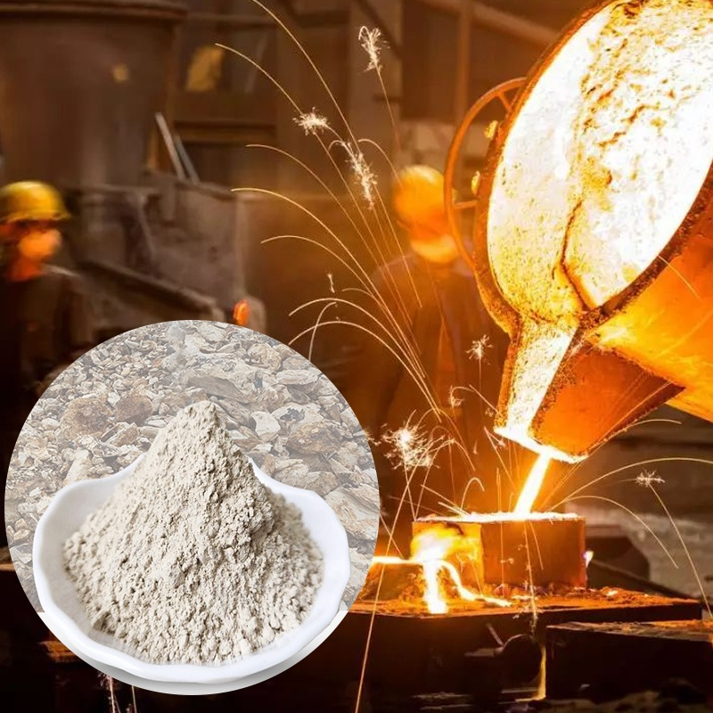 Factory supply White lump bauxite powder Aluminum extraction high-alumina cement material bauxite