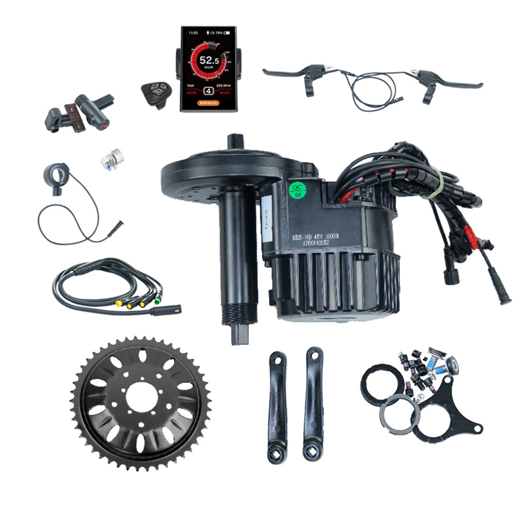Bafang BBSHD BBS03B BBS03 8fun 48V 1000W Mid Drive Motor Electric Bike Conversion Kit