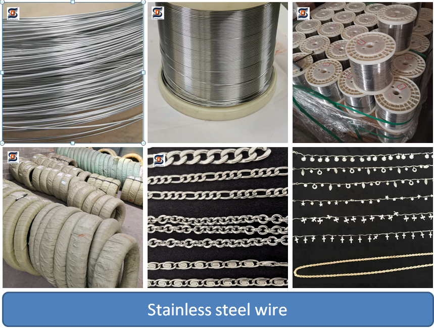 Finely processed standard diameter aisi304 stainless steel wire spring wire