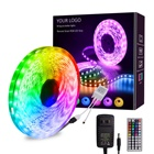 5m Decoration Color Changing 16.4ft 5050 RGB LED Remote Control RGB LED Strip Lights for room, Party, Bedroom