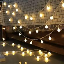Светодиодный светильник, украшение 1,5 м, 10 светодиодный, 3 см(Китай)