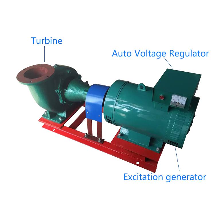 Мини-турбина «Френсис» 5 кВт, гидрогенератор водяной турбины, гидротурбинный генератор