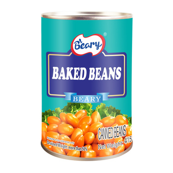 415g Canned Baked Beans in Ketchup Bulk Tomato Beans