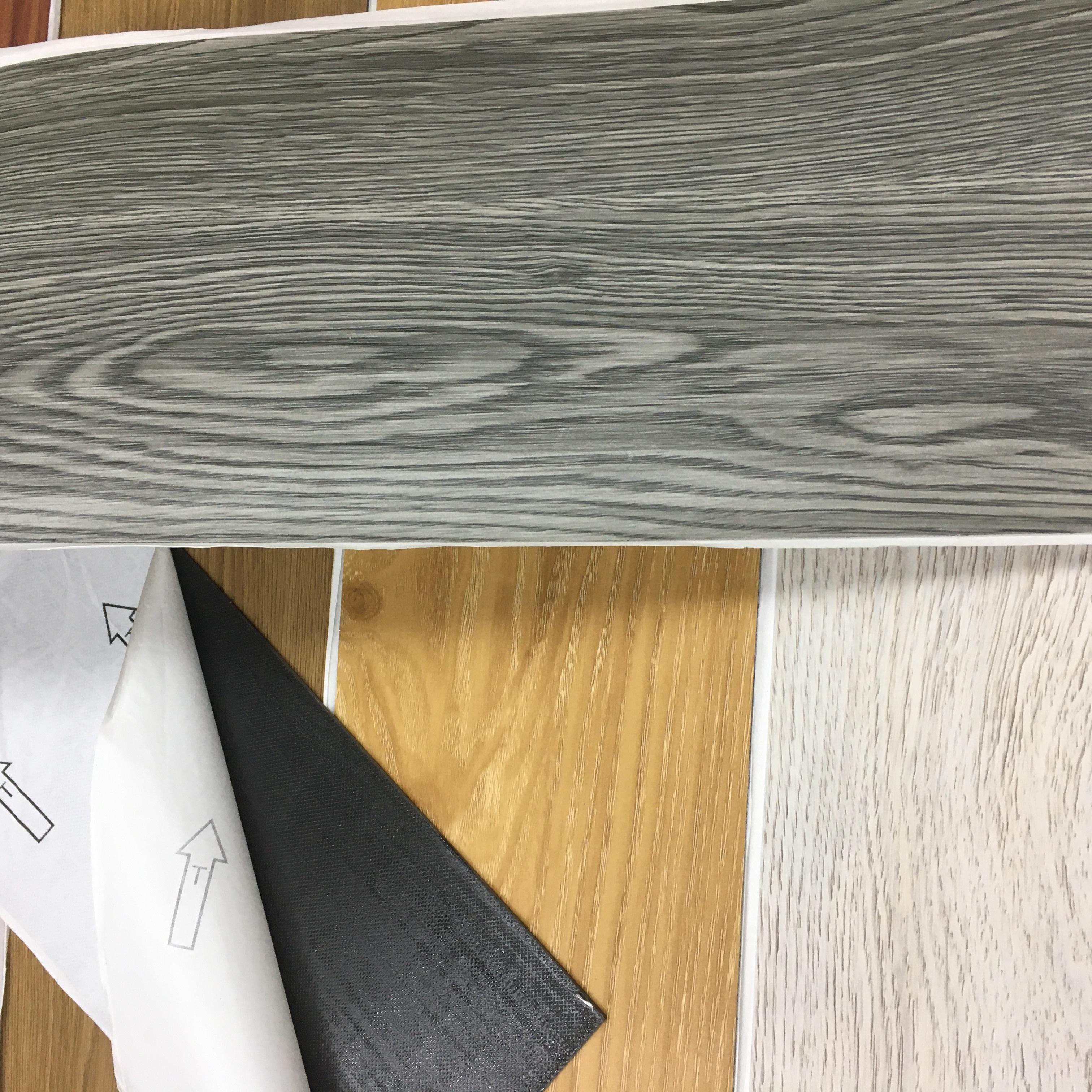 Новая модель плитки Lvt плитка 3 мм клей вниз виниловое напольное покрытие