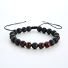 Red tiger stone beads
