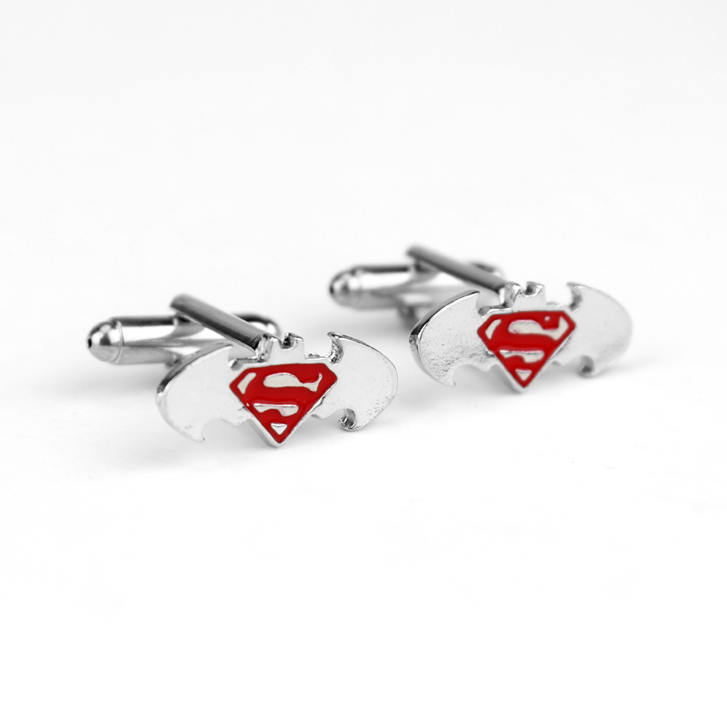 Superman cufflinks superman accessories superman jewelry