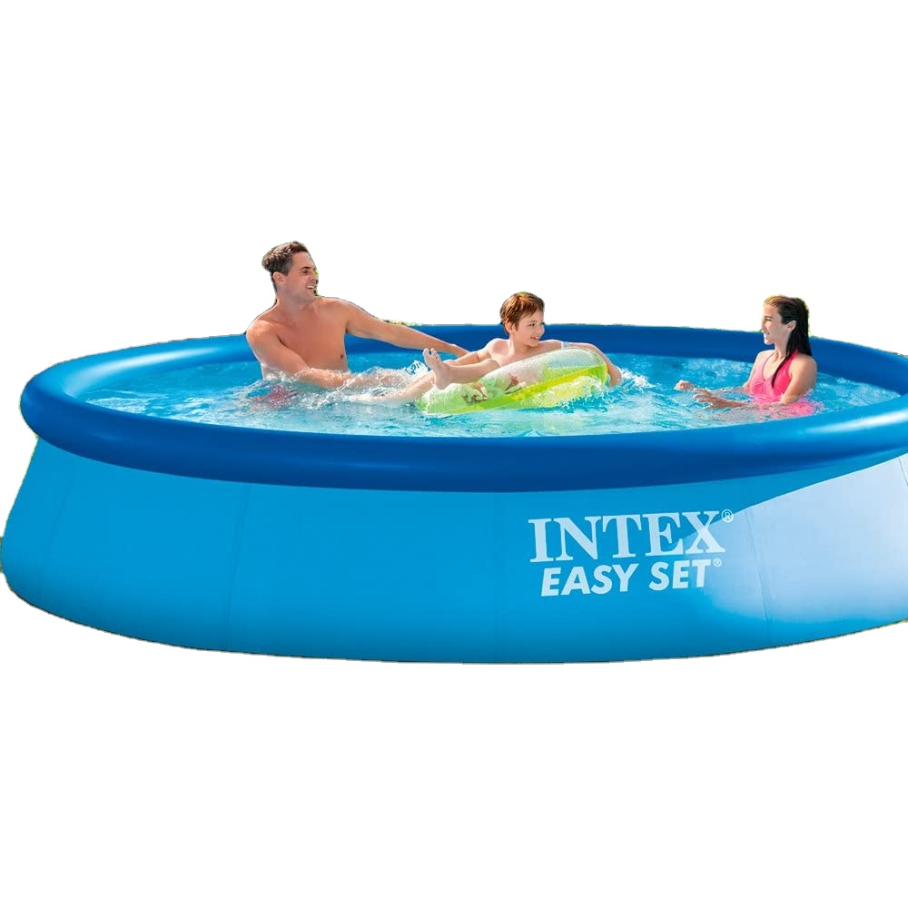 Intex 28132 Above Ground Swimming Pools Easy Set Round Inflatable Pool 366x76cm Laminated Pvc Garden Pool At Home Buy Intex Adult Swimming Pool Swimming Pool Metal Frame Intex