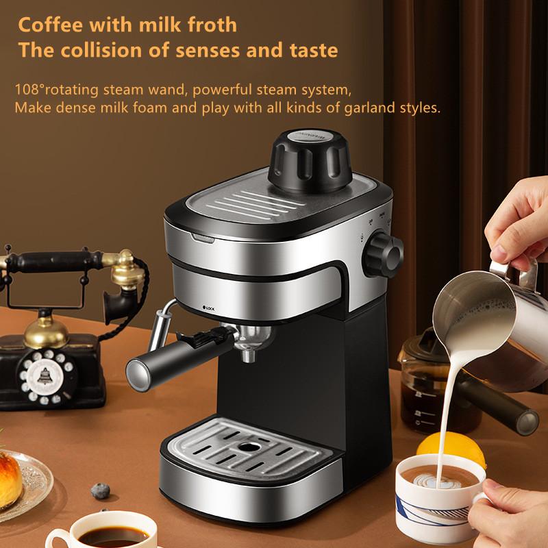 Новинка 2021, лидер продаж, автоматическая кофемашина 2 в 1 для эспрессо, капучино, для дома