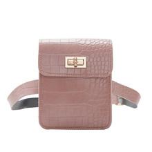 Поясная сумка с каменным узором, женская кожаная сумка-кошелек, дамские Наплечные сумки, классическая элегантная сумка через плечо(Китай)