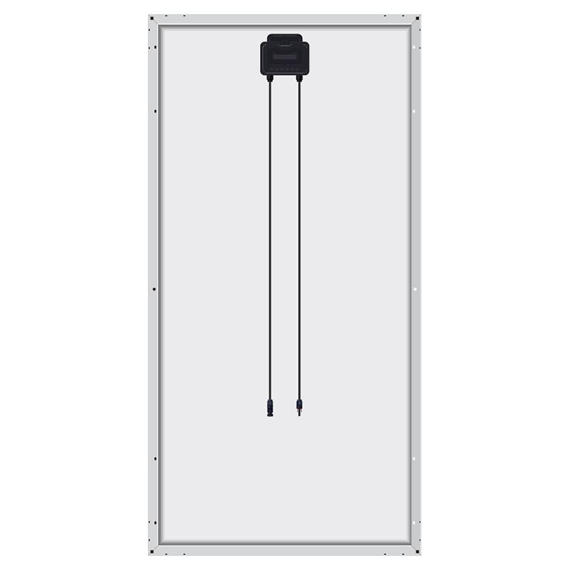 Mono solar panel 380w high module efficiency 19.60%
