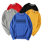 Hoodie Sport High Quality Custom Logo Print Blank Hoodie 100% Cotton Crew Collar Unisex Sport Sweatshirt Wholesale