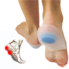 Hot Selling Medical Comfort Gel Silicone Foot Half Sole Insoles Silicone Shoe Pad For Unisex