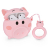 12. pink pig silicone case for airpod 2 1