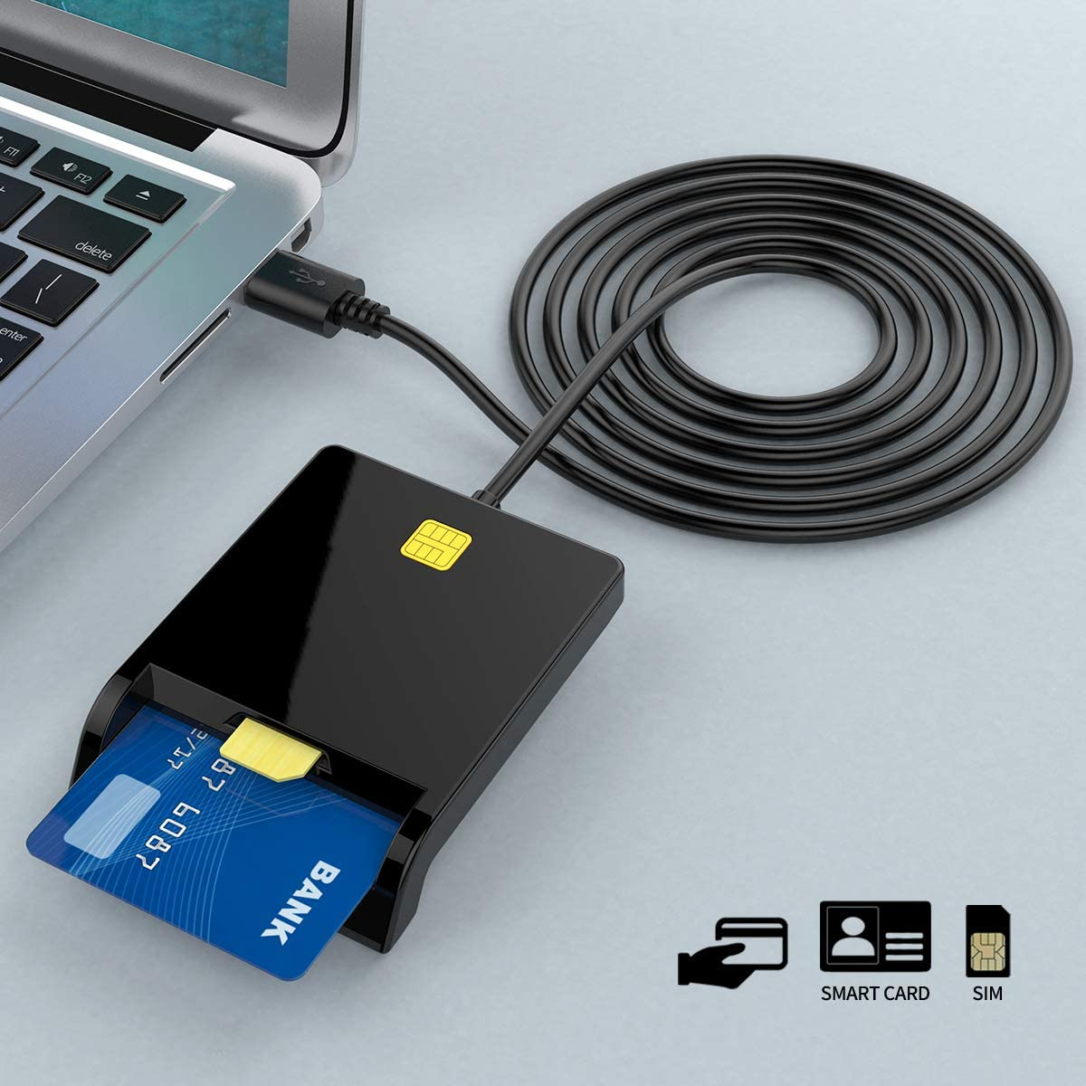 ISO7816 ID card reader EMV USB IC credit card chip reader writer - USBSKY   USBSKY.NET