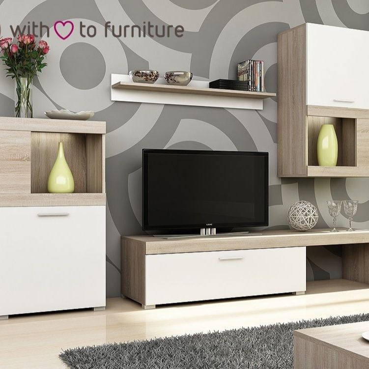 Living Room Furniture Set Tv Unit Stand Wall Cabinet Buy Bedroom Design Designs Cabinets Product On Alibaba Com