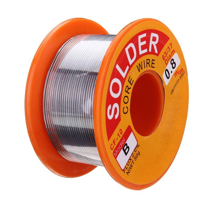 Non Corrosive Soldering Welding Iron Wire 0.8mm Reel Tin Lead Rosin Core Solder