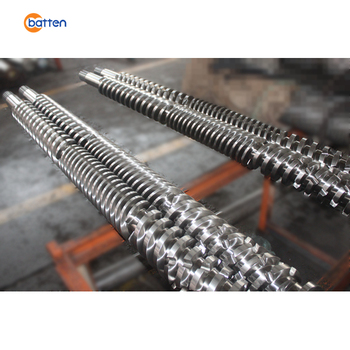 D130-22 parallel twin screw barrel /cylinder for extrusion machine