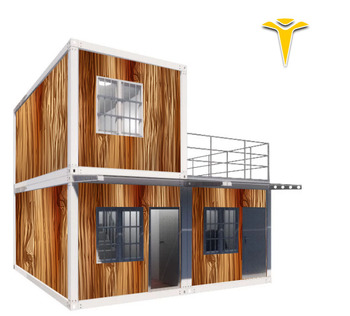 40Feet Modified Duplex Homes 5 Container House 5 Bedroom House 80m2 House Plan Big Modular Home