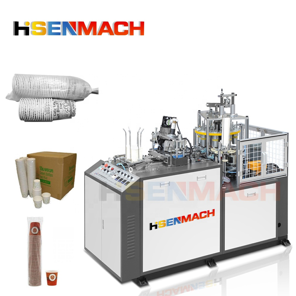 High speed  paper  Forming Paper coffee cup machine disposable paper cutting cup making machine