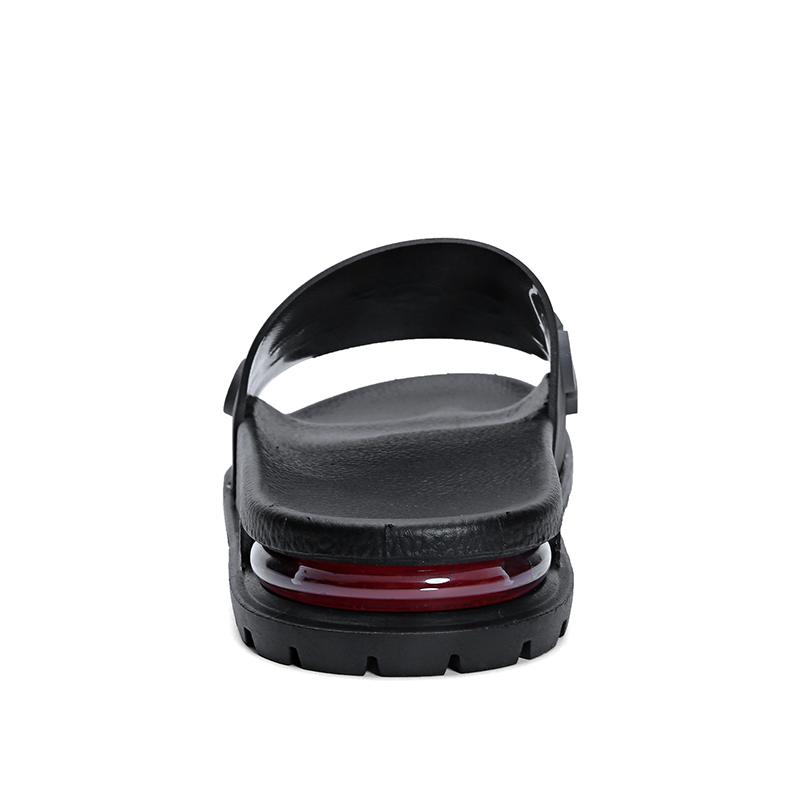 Rubber Outsole Cushion Custom Slide Men Shoes Man Kids Blown Pvc Air Blowing Slipper Sandal Daily Light Weight Flat Heel 5008