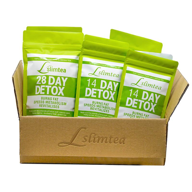 Detox Slim Private Label 14 Day 28 Day Fitness Slimming Tea Teatox - 4uTea | 4uTea.com