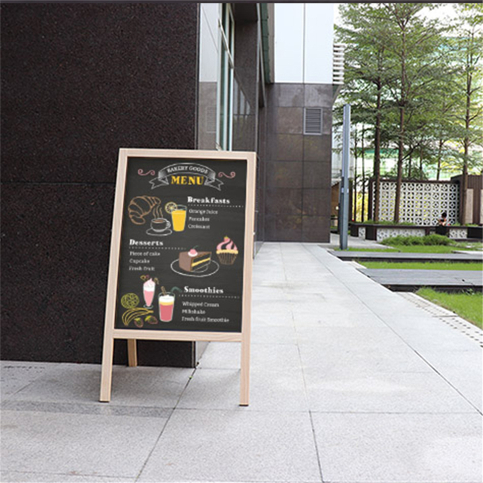 Wholesale A Frame Wooden Advertising Chalkboard With Stand - Yola WhiteBoard | szyola.net