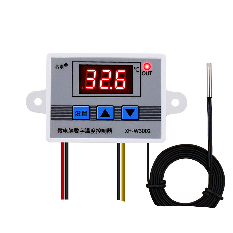 12v 24v 220v Professional W3002 Digital Led Temperature Controller 10a Thermostat Regulator Xh W3002 Buy Xh W3002 Led Temperature Controller Thermostat Regulator Product On Alibaba Com
