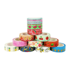 Custom Printing For DIY Craft Decorative Gold Silver Foil Masking Washi Tape