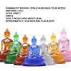 7-inch glazed pharmacist Seven Buddhas (respect)