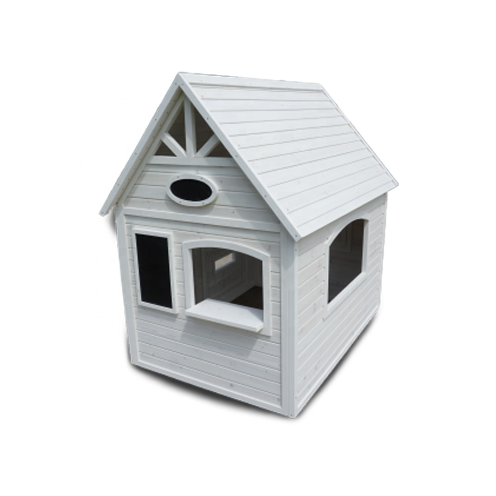 Geometrics custom oem factory funny sand beach Doll House Children Outdoor Kids Playground Wooden Playhouse