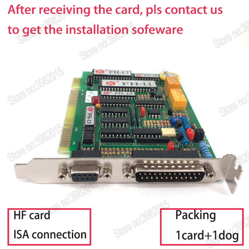 WEDM HF Card Programming and Controlling System ISA Connection for Wire Cutting Machine