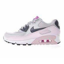 Оригинальные женские кроссовки для бега NIKE AIR MAX 90, спортивные уличные кроссовки, удобные, прочные, дышащие, 345017-601(Китай)