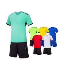 En gros plaine football kits de football et ensemble de maillot de football