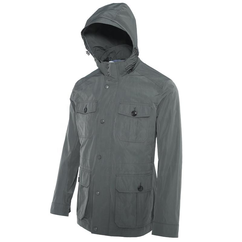 Huiquan идеальная верхняя одежда, сделано в Китае, весенне-осенняя куртка для мужчин, высокая комфортная Мужская ветрозащитная куртка на весну и осень
