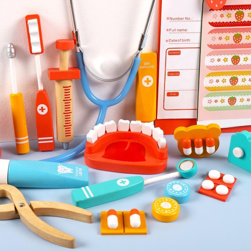 Высококачественный подарок, образовательный Забавный медицинский набор, набор для ролевых игр, докторские игрушки для детей