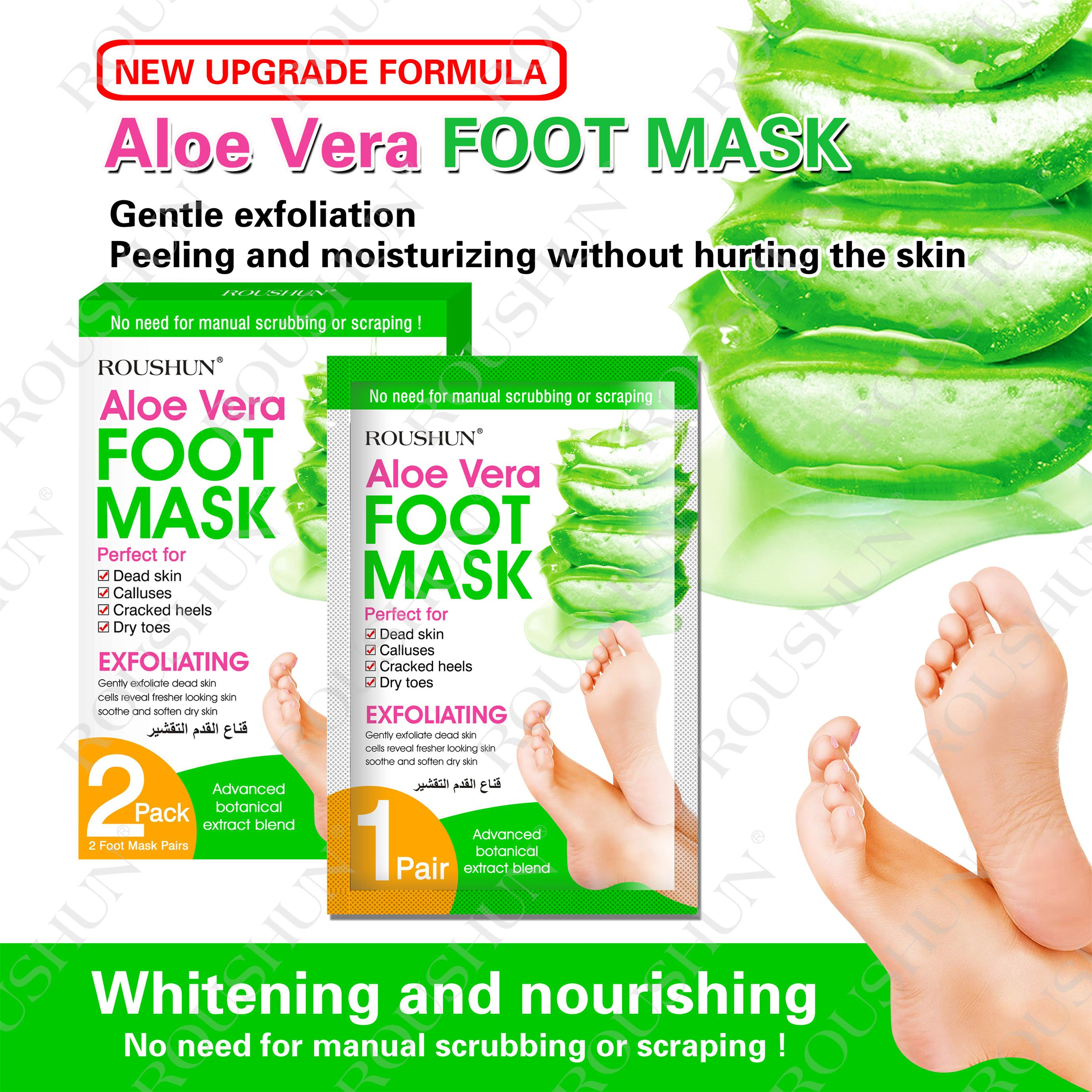 aloe vera foot mask