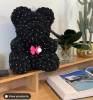 black bear black ribbon + DIMONDS