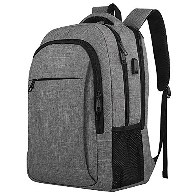 Travel laptop backpack High quality Fashion Waterproof anti theft Durable rpet fabric school Travel laptop backpack