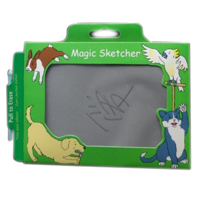 Custom Magic drawing writing sketcher board paper with pen for kids