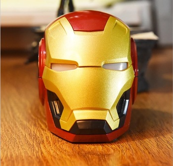 2019 innovation Iron man speaker Fashion Stereo Sound portable Speaker With Bass Sound