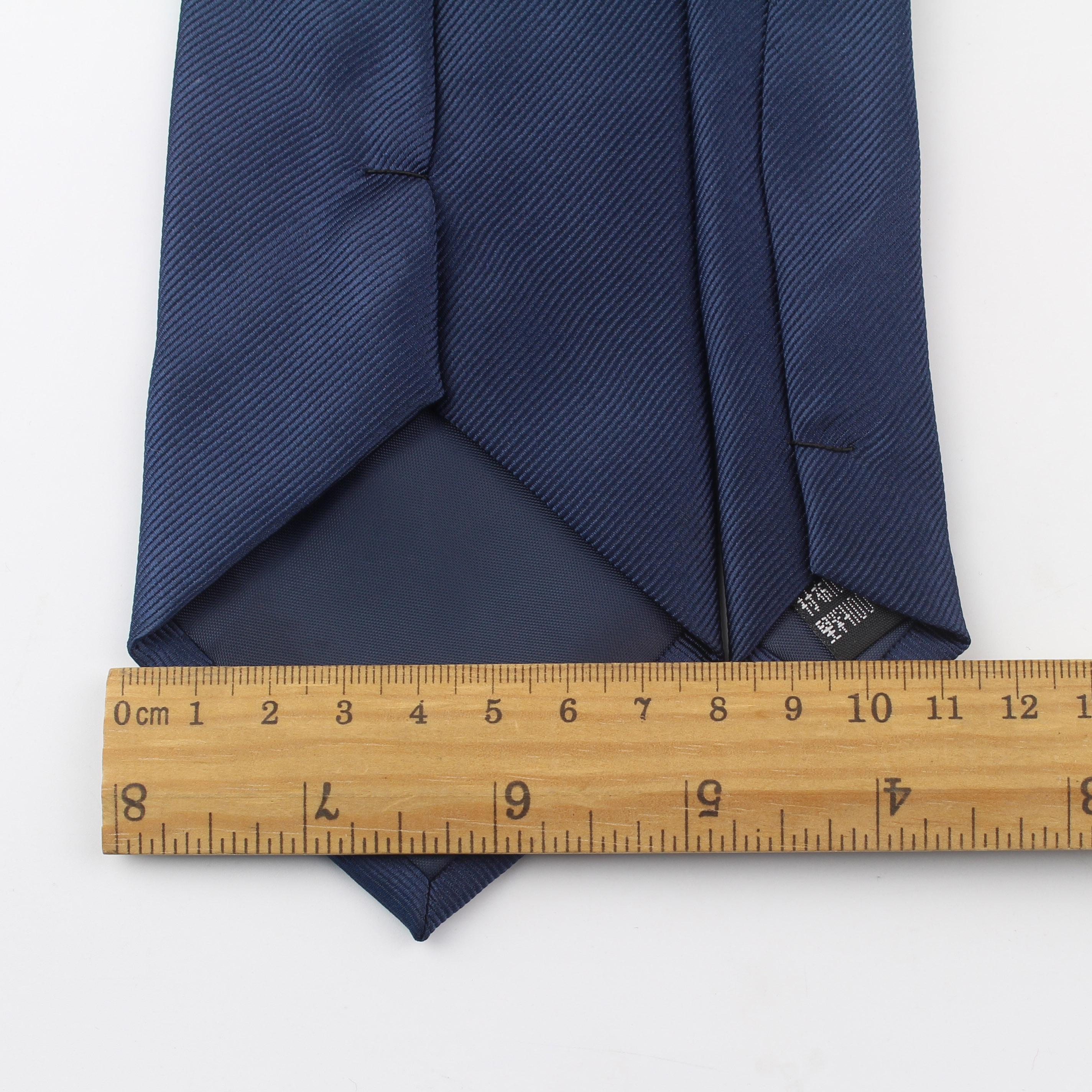 Мужские деловые строгие полосатые дизайнерские жаккардовые галстуки 8 см Мужской дизайнерский галстук из полиэстера для вечеринки тонкая стрела дешевый имитационный шелковый галстук