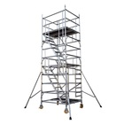 Construction Construction Aluminum Scaffolding For Construction Mobile Scaffolding With Wheels Accessories Frame Brace Ladders Aluminum Stairs Scaffolding For Construction