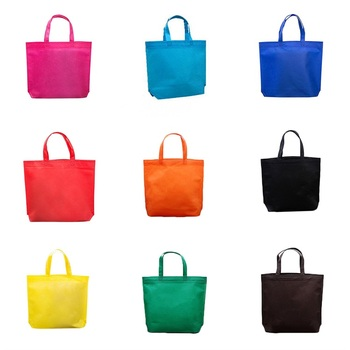 Direct manufacturer safety health foldable reusable cheap eco-friendly multicolor large pla non woven bag