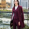 Purplish red(coat+ vest and pants)