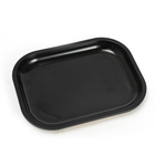 Tray Design Tray Jiju New Design Wholesale Smoking Accessories Custom Logo Metal Solid Color Square Rolling Tray Tin